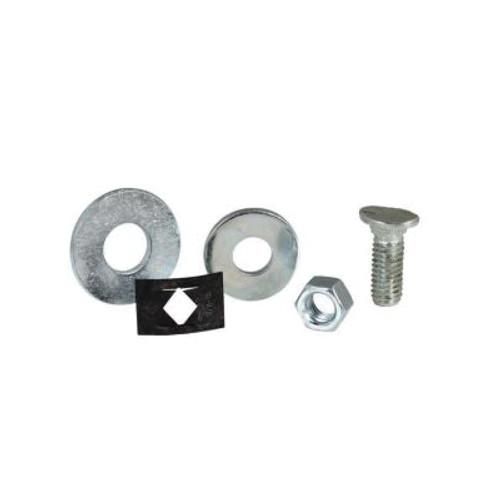 Bracketless Bolt Hung Fastener, For Use With Sliding Door Key-Hole™ Track System, Steel