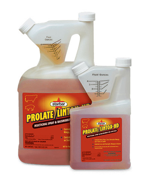 Starbar® Prolate/Lintox-Hd™ Insecticidal Spray and Backrubber