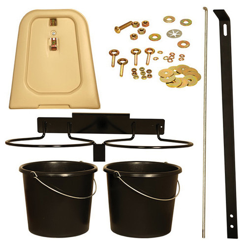Calf-Tel® Pail and Hardware Kit, For Calf-Tel® Deluxe II Hutch