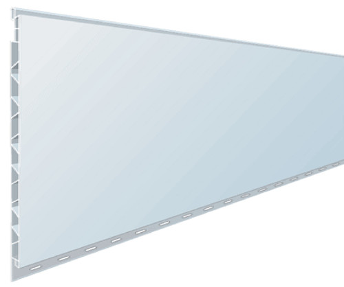 Trusscore™ PVC Wall and Ceiling Panel, 14 ft L x 16 in W x 1/2 in THK