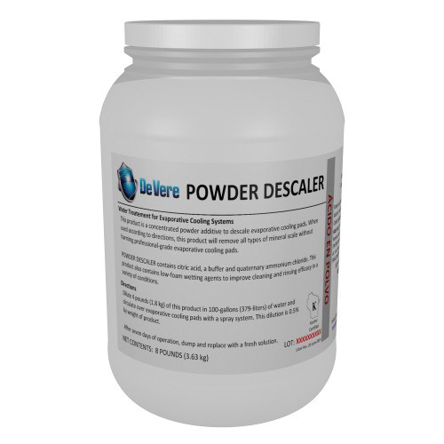 Descaler Powder for Pads, 8 lbs