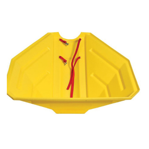 Poly Hopper, For Use With 6 to 8 in Straight Auger