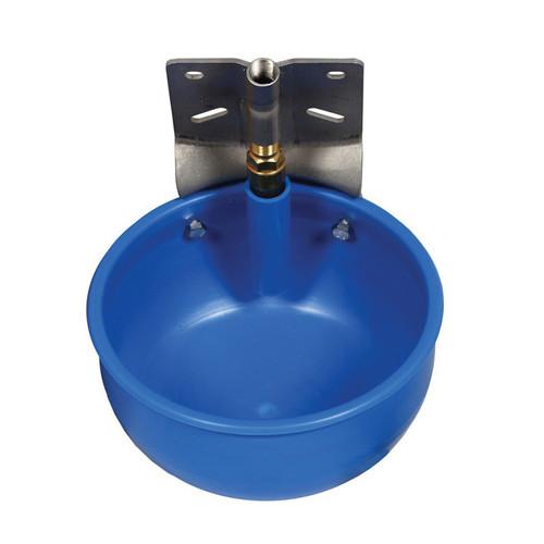 PVC Round Livestock Water Bowl with Nipple