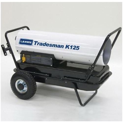 L.B. White® Tradesman® Portable Forced Air Heater, 125000 Btu/hr, 2.5 A, 1/5 hp