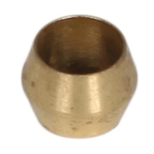 Chore-Time® Compression Ferrule, Ferrule Connector, 1/4 in, Compression, Brass