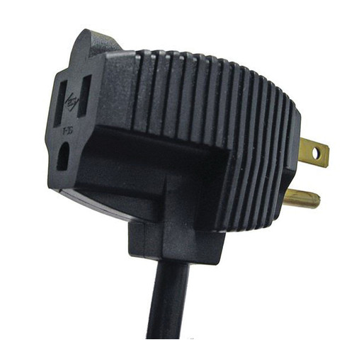 Replacement Cord With Plug-Thru Molded Plug, 20 ft, 18-3 Conductors