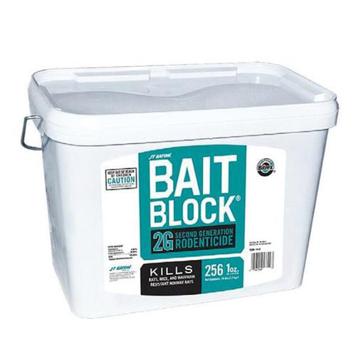 BAIT BLOCK® 2G Bait Block, 16 lb, Pail, Solid, Red, Fat, Oil