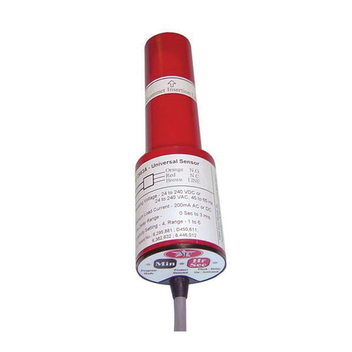 AP® Universal Pxomity Sensor Switch, 24 to 240 VAC/VDC, 0.2 A, 45 to 65 Hz, 0 s to 3 hr Delay Setting