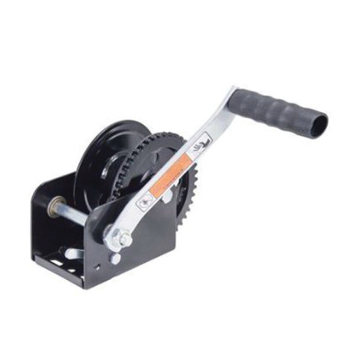 Dutton-Lainson® Large Hub Winch With Handle, 1100 lb Load, Powder Coated Black
