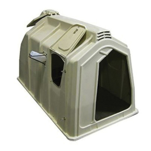 Calf-Tel® Deluxe II Left Door Hutch System Kit With Side Feed Station
