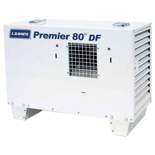 L.B. White® Premier® Dual Fuel Ductable Portable Unit Heater, 80000 Btu/hr, 80 cu-ft/hr Fuel