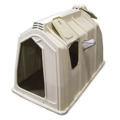 Calf-Tel® Deluxe II Right Door Hutch System Kit With Side Feed Station