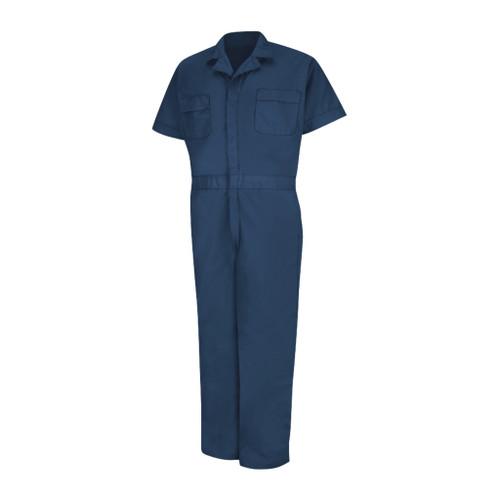 Short Sleeve Coveralls Reg Small