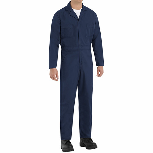 Long Sleeve Coveralls Tall 2X-Large 46-50 Inch Chest