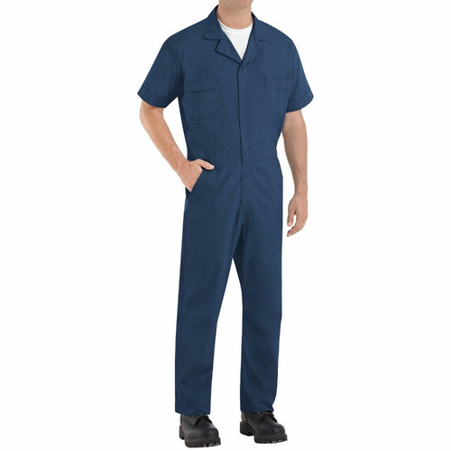 Short Sleeve Coveralls Reg 3X-Large 54-58 Inch Chest