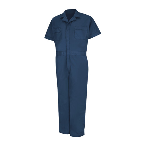 Short Sleeve Coveralls Reg Large 42-46 Inch Chest