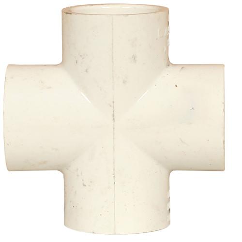 PVC Cross 1 Inch SCH 40 Slip