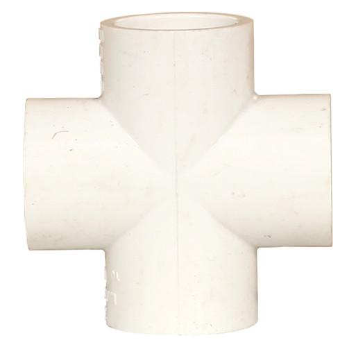 PVC Cross 3/4 Inch