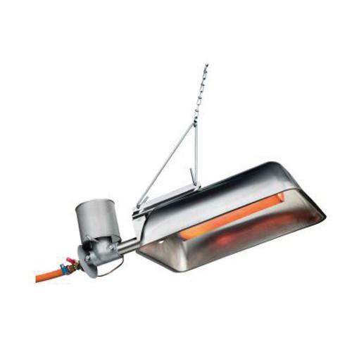GASOLEC Type M8 Gas-Fired Infrared Radiant Heater, 5 kW, Propane/LP