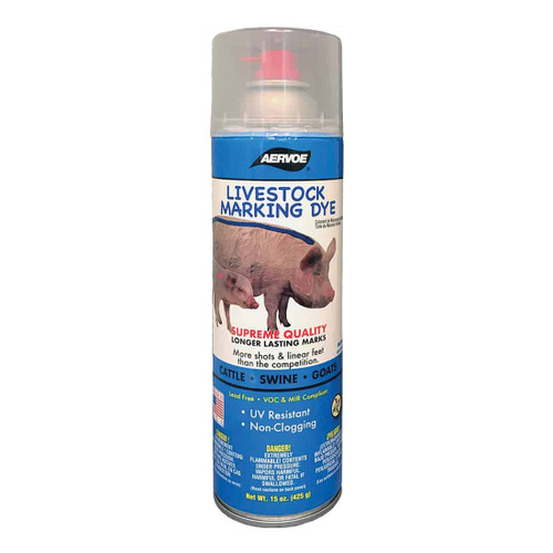 Aervoe® Blue Livestock Aerosol Marking Dye 15 oz