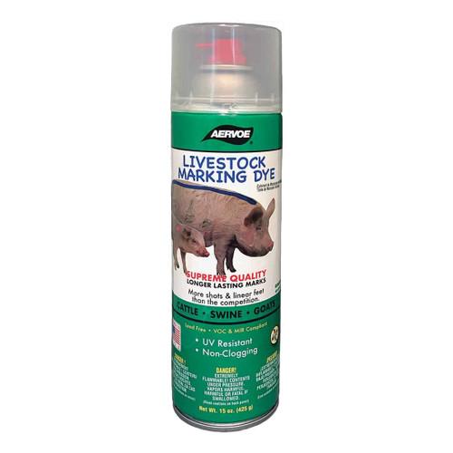 Aervoe® Green Livestock Aerosol Marking Dye 15 oz