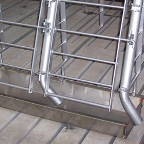 Stainless Steel Watering Trough 2