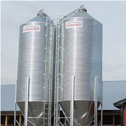 Galvanized Metal Feed Bins