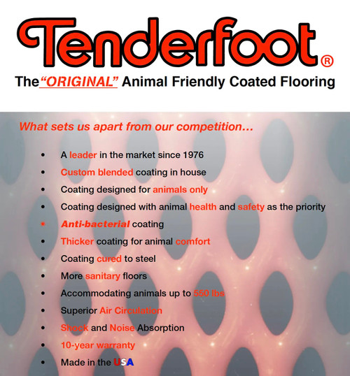 Tenderfoot Plastisol Coating Flooring