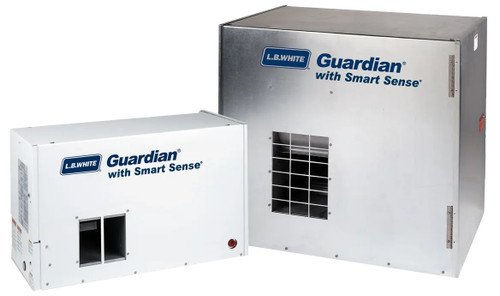 LB White Guardian Heaters with Smart Sense