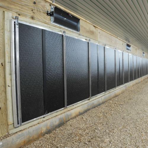 PVC Single Tunnel Inlet Doors