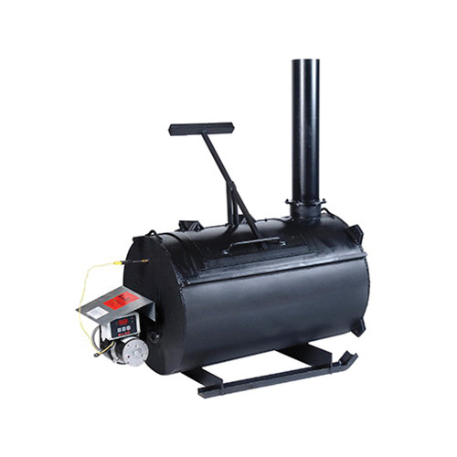 Burn-Easy Heat Lined Incinerator, 200 lb, 75 to 100 lb/hr, Diesel