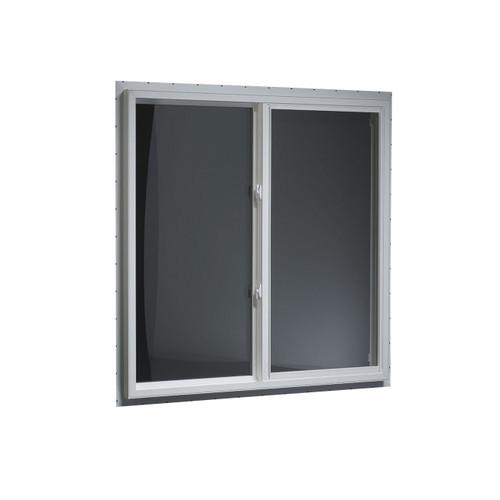 "Mi™ Single-Slider Window, PVC Frame - 44.5"" x 36"""