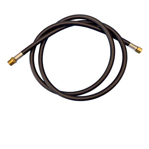 GASOLEC Gas Hose, 1/4 x 1/8 in, MNPT x Female Swivel, 6 ft L