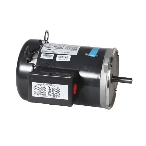 Cumberland® Flex-Flo™ Direct Drive Replacement Auger Motor, 1 hp, 190/380 and 208 to 230/460 VAC, 50/60 Hz, 3 ph