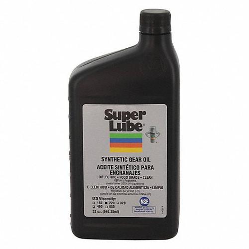 Synthetic Gear Oil, 1 qt Bottle, Mild Odor/Scent, Translucent Clear, Liquid