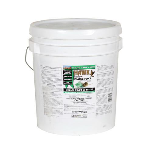 Hawk® Rat and Mouse Bait, 1.5 oz, Pellet