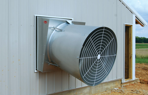 Cumberland® 4 Blade Ventilation Fan With Cone, 36 in Dia Blade, 11560 to 12280 cfm