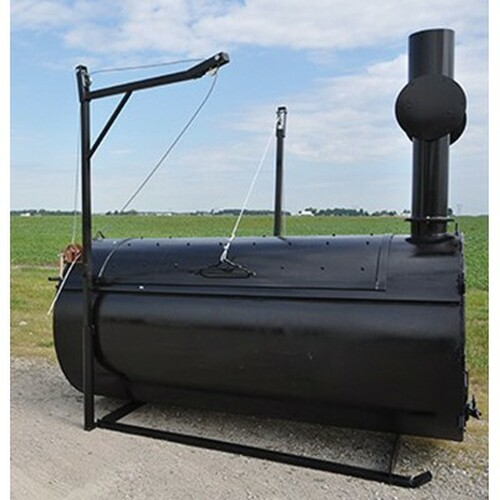 Burn-Easy 529 Heat Lined Incinerator, 2100 lb, 75 to 100 lb/hr, LP, Steel