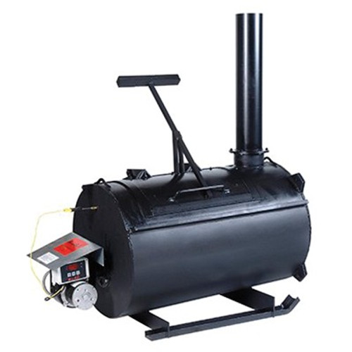 Burn-Easy 34 Series Heat Lined Incinerator, 200 lb, 75 to 100 lb/hr, NG, Steel
