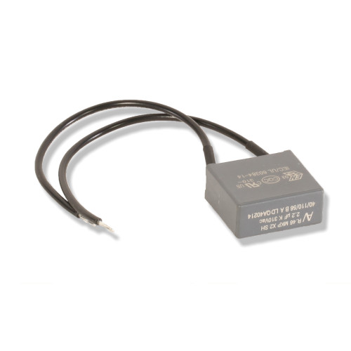 Agri-Plastics Anti-Leak Capacitor/Bleeder, For Use With Edge Controller, 2.2 uF, 310 VAC, 110 C, PP
