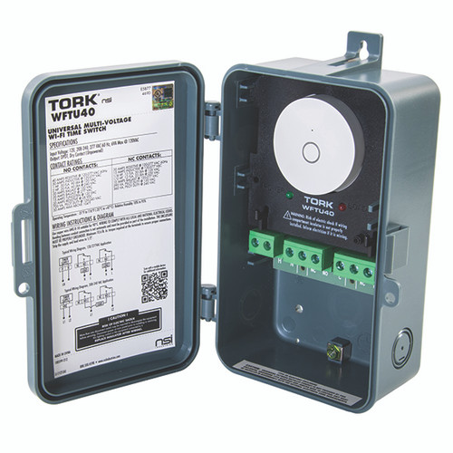 TORK® Multi-Voltage Universal Time Switch With Wi-Fi App Integration
