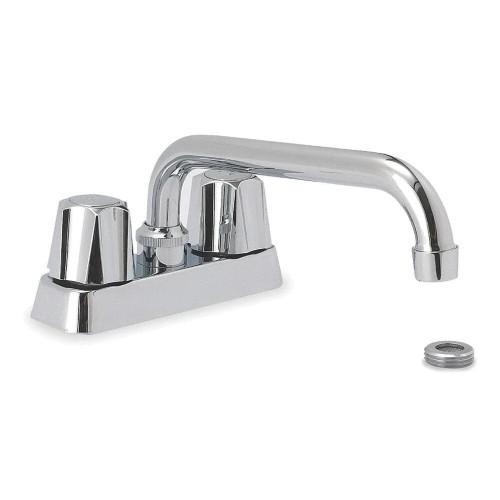 2-Hole Rigid Swing Utility Sink Faucet