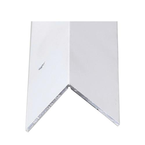 Inside/Outside Aluminum Corner, 1-3/8 x 1-3/8 in, 8 ft L
