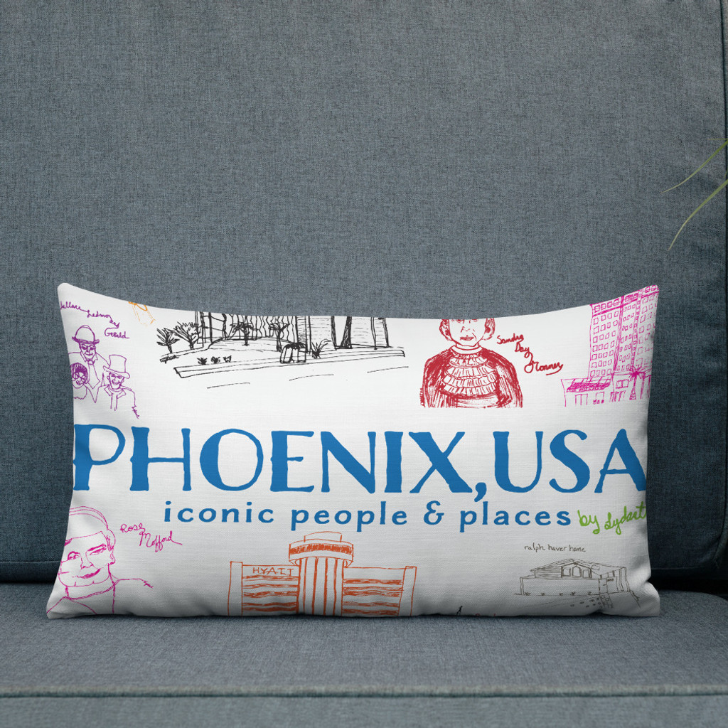 Phoenix Icon Pillow