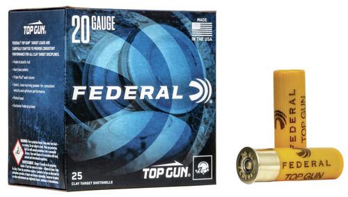 """Federal Top Gun 20GA, 2 3/4"""", 7/8oz. 1210FPS, #8, 25RD"""