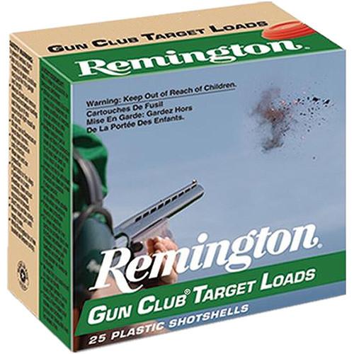 "Remington Gun Club Target Loads GC208  20GA 2 3/4"", 7/8oz. 1200FPS, #8, 25RD, 10Box/Case, 250RD/Case"
