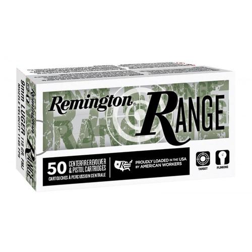 Remington Range 9mm 28564 Luger 115GR FMJ, 50RD