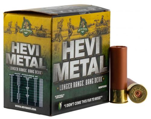 """HEVI-SHOT Hevi Metal Longer Range 20GA 3"""", 1350FPS, 1oz. #4, 25RD"""