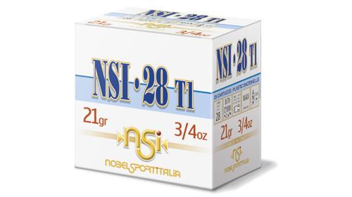 "Nobelsport T1 28GA 2 3/4"", 3/4oz. #7.5, 25RD/Box, 10Box/Case, 250RD/Case"