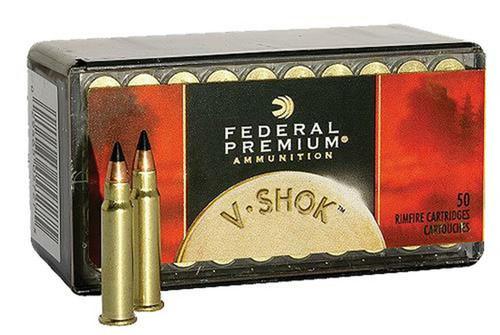 Federal Premium V-Shok .17HMR 17GR V-MAX, 50RD